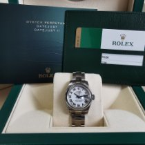 Rolex Lady-Datejust Steel 26mm White Roman numerals United Kingdom, Plymouth