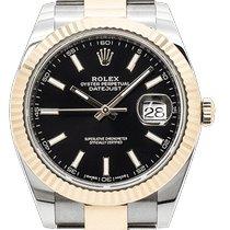 Rolex Datejust Acero y oro 41mm Negro