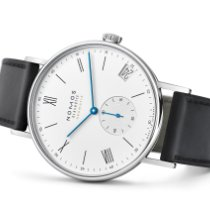 NOMOS Ludwig Neomatik Staal 40.5mm Zilver