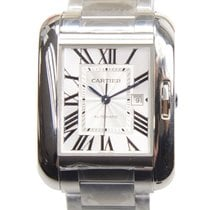 Cartier Tank Anglaise Steel 29.8mm Silver
