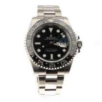 Rolex GMT-Master II Steel 40mm Black No numerals United Kingdom, Swansea