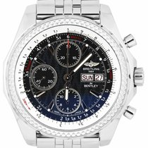 Breitling Bentley GT Steel 44.8mm Black United States of America, New York, Lynbrook