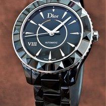 Dior VIII Ceramika 38mm Czarny Bez cyfr