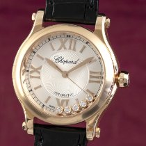 Chopard Happy Sport Or rouge 30mm Argent