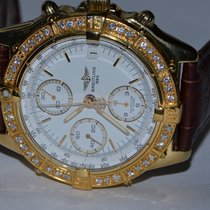 Breitling Chronomat Yellow gold 40mm White No numerals United States of America, New York, NEW YORK CITY