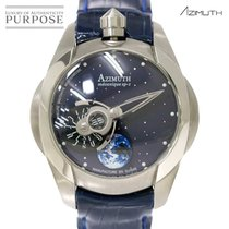 Azimuth occasion Remontage manuel 49mm Bleu