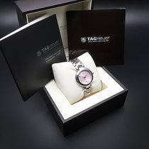 TAG Heuer Link Lady Acero 34.5mm Rosa Sin cifras