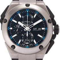 IWC Ingenieur Double Chronograph Titanium Titane 44mm