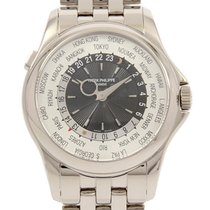 Patek Philippe World Time occasion 39.5mm Gris