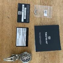 TAG Heuer Carrera Calibre HEUER 01 Titanium 45mm Doorzichtig Geen cijfers Nederland, Delfgauw