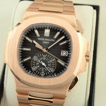 Patek Philippe Red gold Automatic Brown 40.5mm new Nautilus