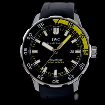 IWC Aquatimer Automatic 2000 Сталь 44mm Чёрный