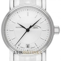 Mühle Glashütte Women's watch Teutonia II 34mm Automatic new Watch with original box and original papers 2020