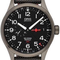 Oris Big Crown ProPilot GMT 01 748 7710 4284-Set 2020 new
