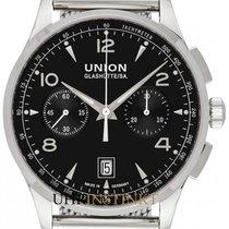 Union Glashütte Noramis Chronograph Steel 42mm Black