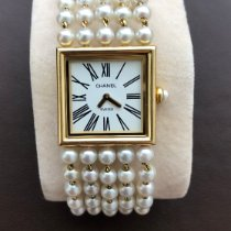 Chanel Mademoiselle 24mm White Roman numerals