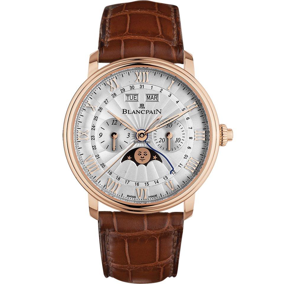 Blancpain Villeret Complete Calendar 6685-3642-55B 2021 new
