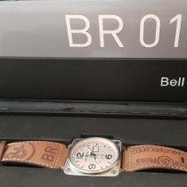Bell & Ross BR 01-96 Grande Date Acero 46mm Blanco Arábigos España, Palma de Mallorca