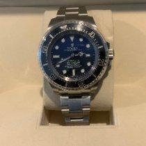 Rolex Sea-Dweller Deepsea Acero 44mm Azul Sin cifras