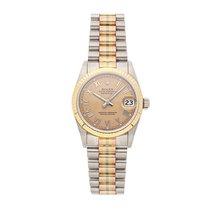 Rolex Datejust White gold 31mm Bronze Roman numerals