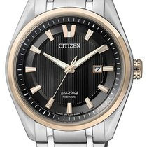 Citizen Titanium 42mm Quartz AW1244-56E new