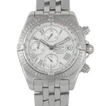 Breitling Chronomat Evolution Acero 43.7mm Plata Romanos