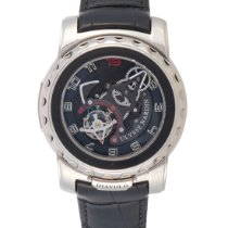 Ulysse Nardin White gold Manual winding Transparent Arabic numerals 45mm pre-owned Freak
