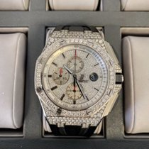 Audemars Piguet Royal Oak Offshore Chronograph Ατσάλι 44mm Άσπρο Xωρίς ψηφία