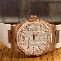 Girard Perregaux Laureato Oro rosa 34mm Plata