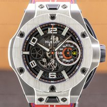 Hublot Big Bang Ferrari Carbon 45mm Transparent Arabic numerals United States of America, Massachusetts, Boston