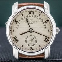 Vacheron Constantin Patrimony White gold 37mm Silver United States of America, Massachusetts, Boston