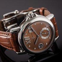 Ulysse Nardin Dual Time Steel 37mm Brown No numerals