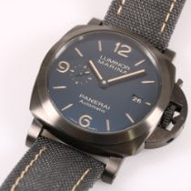 Panerai Luminor Marina Automatic Titane 44mm Bleu Arabes