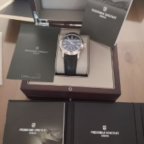 Frederique Constant Manufacture Classic Staal 42mm Zwart Romeins