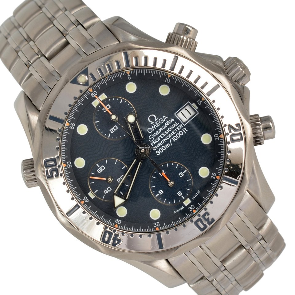 Omega Seamaster 2598.80.00 Chronograph Diver 300M Full Set 2000