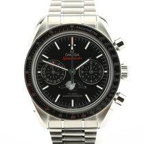 Omega Speedmaster Professional Moonwatch Moonphase Staal 44.25mm Zwart Geen cijfers