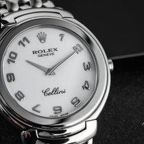 Rolex Cellini White gold 37mm White Arabic numerals