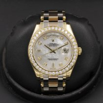 Rolex Day-Date Yellow gold 39mm Mother of pearl United States of America, California, Huntington Beach