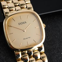 Doxa Yellow gold 31mm Quartz pre-owned