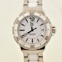 TAG Heuer Formula 1 Lady pre-owned 34mm White Date
