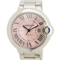 Cartier new Automatic 33mm Steel Sapphire crystal