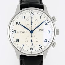 IWC Portuguese Chronograph 3714 Zeer goed Staal 41mm Automatisch
