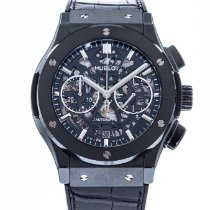Hublot Classic Fusion Aerofusion pre-owned 45mm Transparent Date