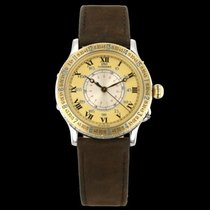 Longines Lindbergh Hour Angle Steel 38mm Champagne Roman numerals