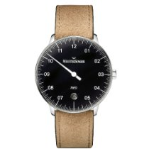 Meistersinger Steel Automatic Black 36mm new Neo