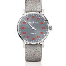 Meistersinger Phanero MEISTERSINGER PHANERO HANDAUFZUG PH307R New Steel 35mm Manual winding