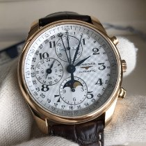 Longines Master Collection Rose gold 40mm White Arabic numerals