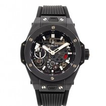 Hublot Big Bang Meca-10 Keramik 45mm Transparent Keine Ziffern
