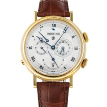 Breguet Yellow gold Automatic Silver Roman numerals 39mm pre-owned Classique