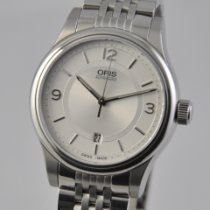 Oris Classic Steel 42mm Silver Arabic numerals United States of America, Ohio, Mason